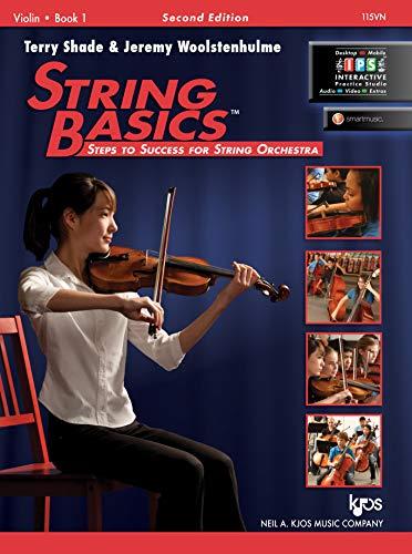 String Basics Book 1 Violin By Terry Shade