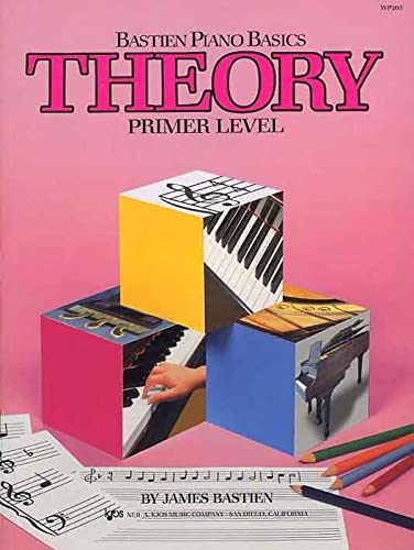 Bastien Piano Basics: Theory Primer By James Bastien