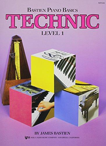 Bastien Piano Basics: Technic Level 1 By James Bastien