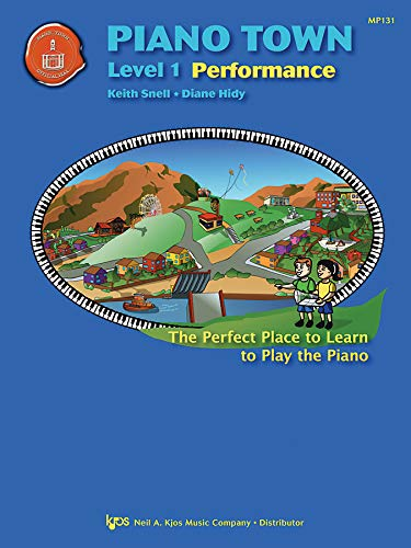 Piano Town Performance Level 1 By Diane Hidy