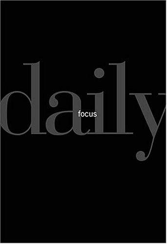 Daily Focus By Thomas G. Addington