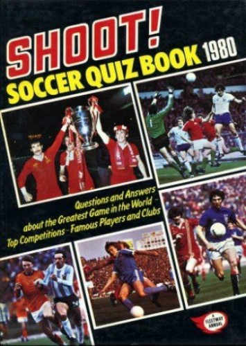 Shoot! Soccer Quiz Book 1980 By The Editor