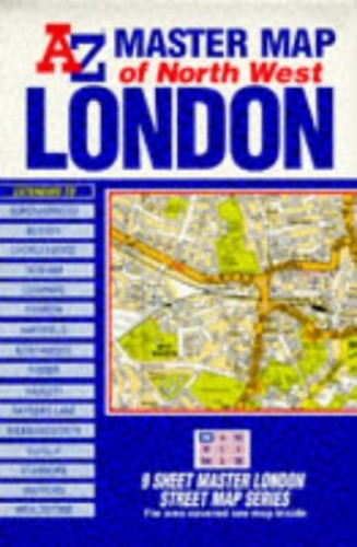 Master Map of Greater London By Geographers' A-Z Map Company
