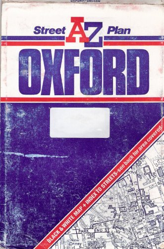 A. to Z. Street Plan of Oxford By Geographers' A-Z Map Company