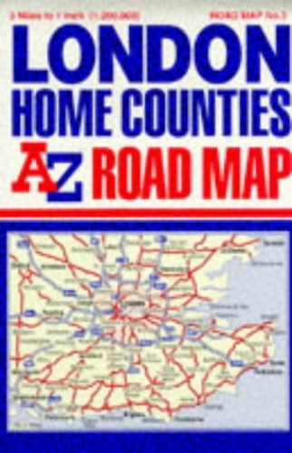 A-Z Road Map of Great Britain By Geographers' A-Z Map Company