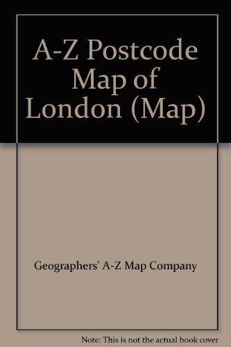 A-Z Postcode Map of London By Geographers' A-Z Map Company