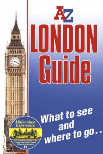 A. to Z. London Handy Guide and Atlas By Geographers' A-Z Map Company