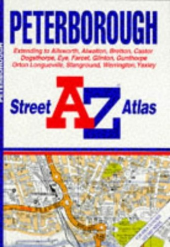 A. to Z. Peterborough Street Atlas By Geographers' A-Z Map Company