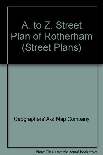 A. to Z. Street Plan of Rotherham By Geographers' A-Z Map Company
