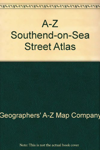A-Z Southend-on-Sea Street Atlas By Geographers' A-Z Map Company