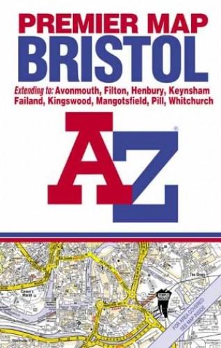Premier Bristol By Geographers' A-Z Map Company