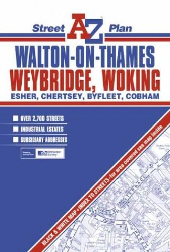 Walton-on-Thames Street Plan