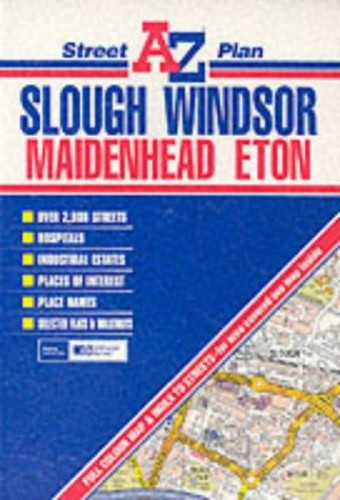 Slough, Windsor and Maidenhead Plan By Geographers' A-Z Map Company