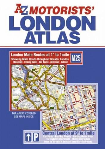 A-Z Motorists' London Atlas