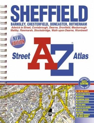 Sheffield Street Atlas By Geographers' A-Z Map Company