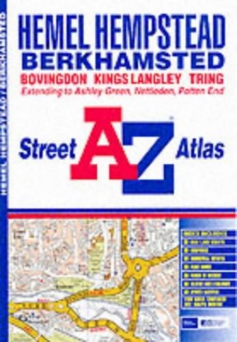 A-Z Hemel Hempstead Street Atlas By Geographers' A-Z Map Company