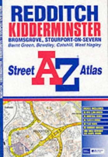 A-Z Redditch Street Atlas by Geographers' A-Z Map Company