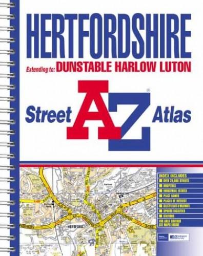 A-Z Hertfordshire Street Atlas