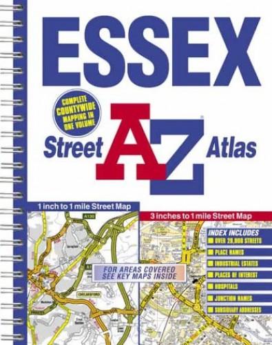 A-Z Essex Street Atlas By Geographers' A-Z Map Company