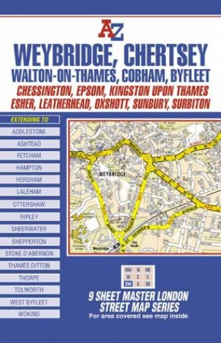 Map Of South West London.A Z Master Map Of South West London London Street Maps By Geographers A Z Map Company