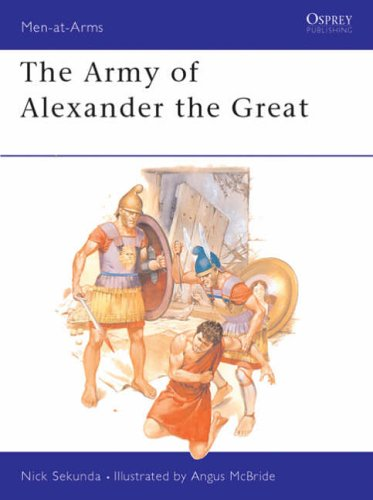 The Army of Alexander the Great (Men-at-Arms) By Nick Sekunda