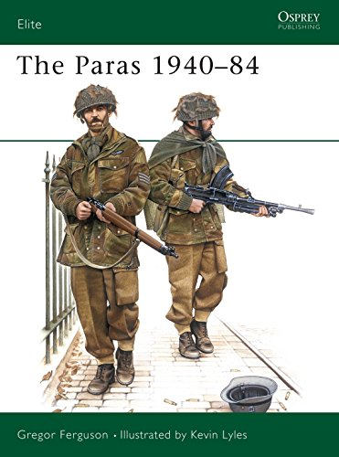 The Paras 1940-84: British Airborne Forces, 1940-84 (Elite) By Gregor Ferguson