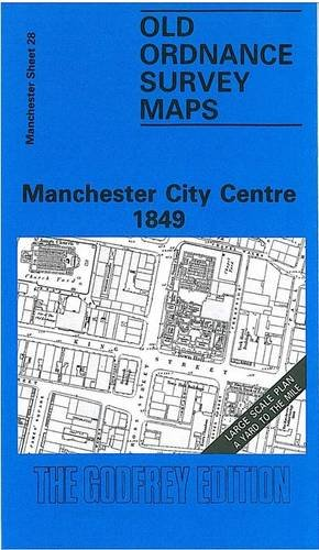 Manchester City Centre 1849 By Nick Burton