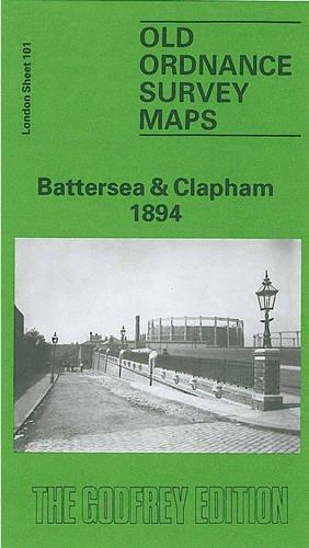 Old Ordnance Survey Maps Brixton /& Herne Hill  London 1870 Godfrey Edition New