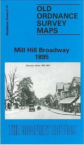 Mill Hill Broadway 1895 By Pamela Taylor