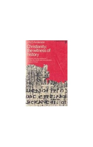 Christianity By Norman Anderson
