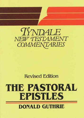 Pastoral Epistles: An Introduction and Commentar... by Guthrie, Donald Paperback