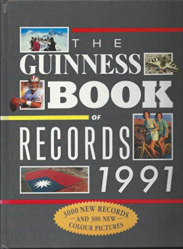 The Guinness Book of Records 1991 Volume editor Donald McFarlan