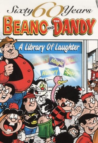 The Beano and The Dandy - A Library of Laughter (60 Sixty Years Series)