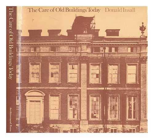 Care of Old Buildings Today by Insall, Donald W. Hardback Book The Cheap Fast