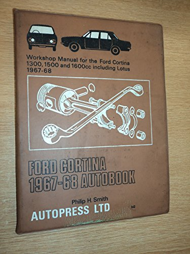 Ford Cortina 1967-68 Autobook By Philip H. Smith
