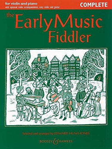 The Early Music Fiddler By Edward Huws Jones