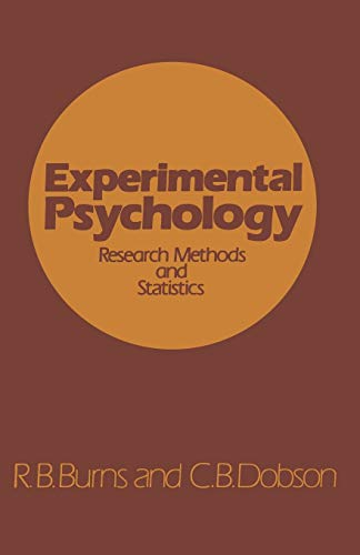 Experimental Psychology By R. B. Burns