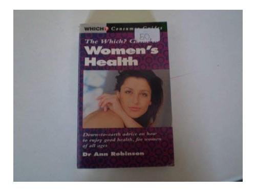 Womens Health By Ann Robinson