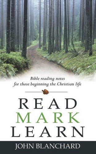Read Mark Learn By John Blanchard