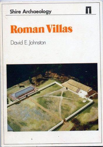 Roman Villas By David E. Johnston
