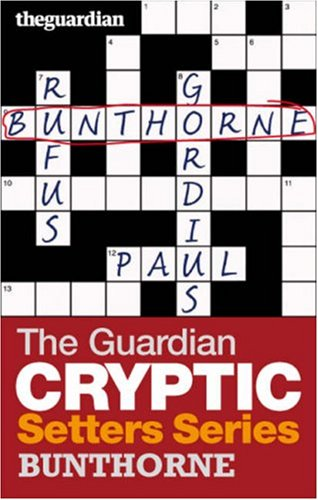 """The """"Guardian"""" Cryptic Crosswords Setters Series By Hugh Stephenson"""