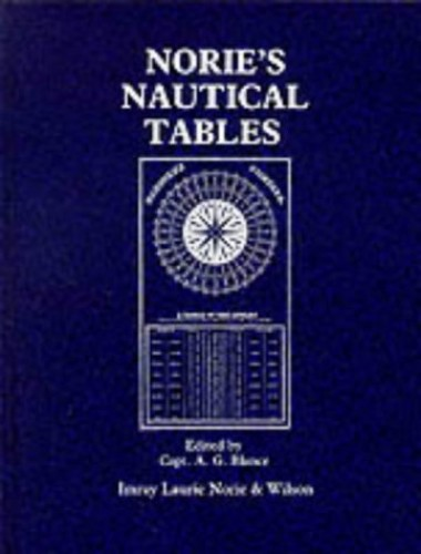 Nautical Tables By J.W. Norie