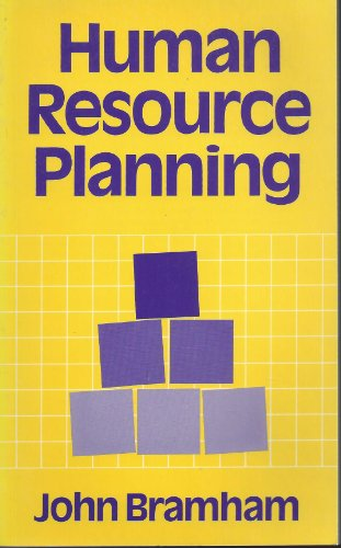 Human Resource Planning By John Bramham