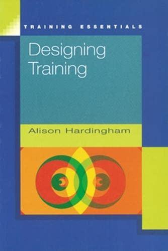Designing Training By Alison Hardingham