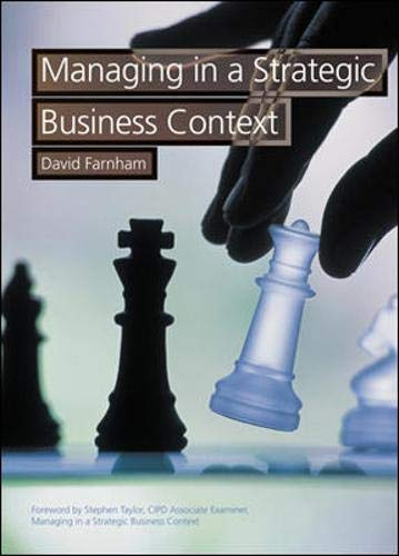 Managing in a Business Context By David Farnham