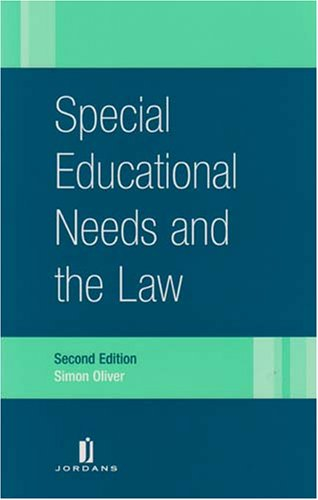 Special Educational Needs and the Law By Simon Oliver