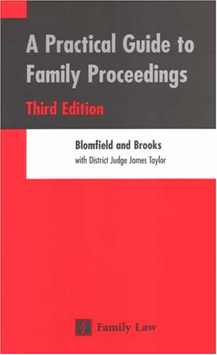 Practical Guide to Family Proceedings by Blomfield, Robert Paperback Book The