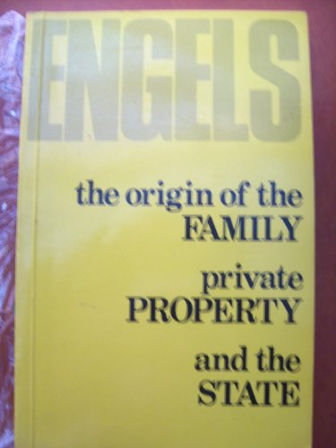 The Origin Of The Family Private Property And The State By