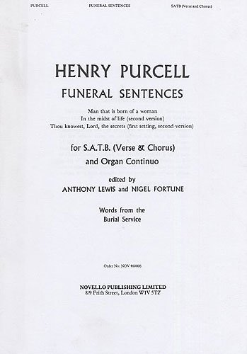 Henry Purcell By Henry (Comp Purcell