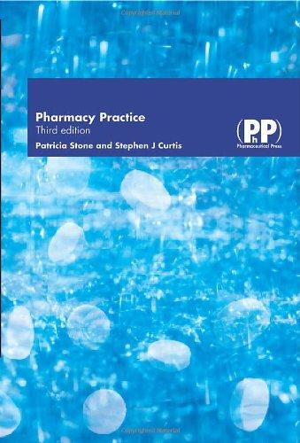 Pharmacy Practice By Patricia Stone